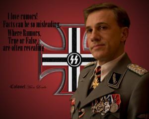 Erwin Rommel Quotes Hans landa by dak-rommel