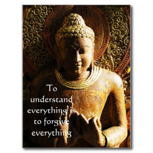 Buddha Quote about FORGIVENESS and FORGIVING Post Card