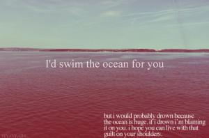 drown, funny, lmfao, lol, ocean, realist, swim, true ...