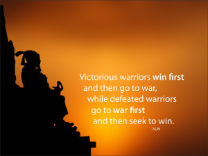 quotes about war Victorious warriors win first and then go to war ...
