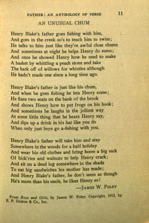 Poems about Fathers