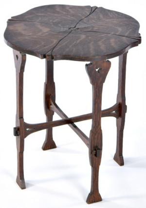 Gustav Stickley Celedine Tea Table