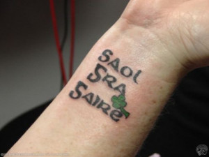 Tattoo Ideas: Gaelic Words + Phrases