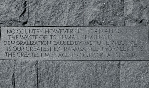 Franklin Delano Roosevelt Memorial Quotes