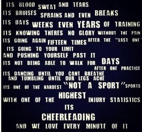 Cheerleading Quotes & Sayings