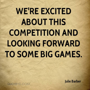 Julie Barber Quotes