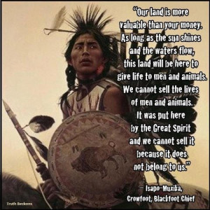 Native American Proverb, facebook