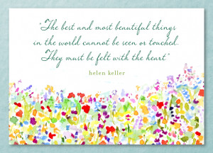 Helen Keller Quote about Love