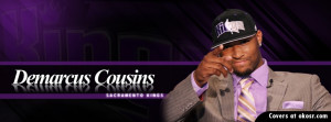 Sacramento Kings Demarcus Cousins Facebook Cover