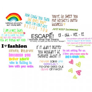 cute quotes 2 - Polyvore