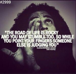 Bob Marley quote haters karma