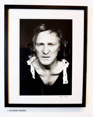 Richard Harris picture taken at Heroes and Villains book launch party