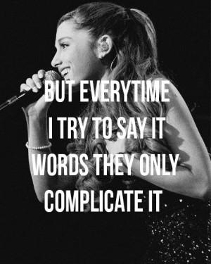 Ariana Grande – Baby I