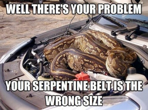 There's your problem - Car humor