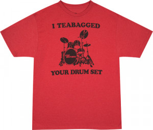 teabagged drumset step brothers t shirt this step brothers shirt ...