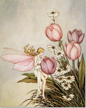 juvenile-nursery-rhymes-rhyme-prints-fairy-tales-fairies-fairy-print ...