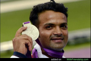 Vijay Kumar Indian Shooter Won Silver Medal in 25m shooting