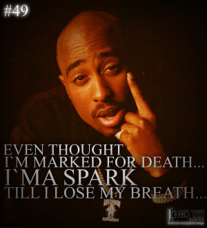 2Pac Quotes About Death