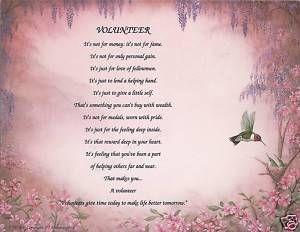 Poems About Hummingbirds | Volunteer Poem Prayer Hummingbird Print ...