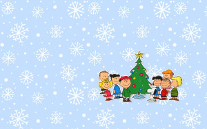 Charlie Brown Christmas Background