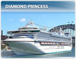Princess Cruises Diamond Princess Alaska Cruise