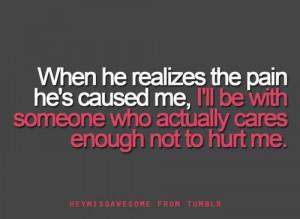 he hurt me quotes