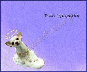 Dog Sympathy Quotes http://kaolinpottery.com/cards.html