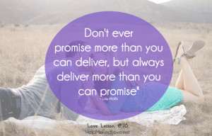 Broken Promises Quotes And Sayings Quote about promises help me