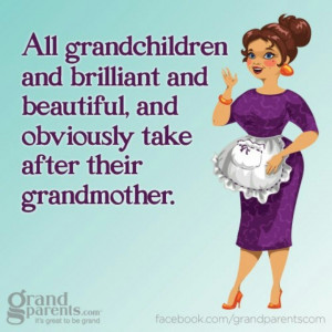 ... Brilliant And Beautiful, And Obviously Take After Their Grandmother
