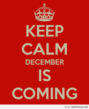 ... december is coming - Funny Pictures, Funny Quotes, Funny Memes, Fun