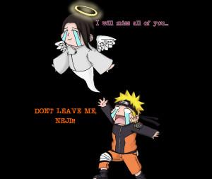Don't leave me, Neji! by UchihaClanRock