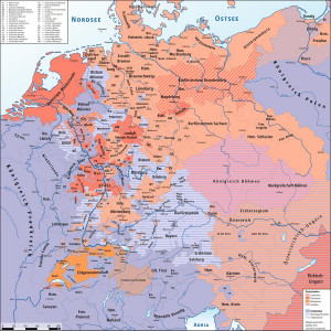 Holy Roman Empire Ends With Peace of Westphalia