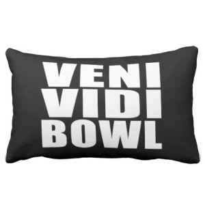 Funny Bowling Quotes Jokes : Veni Vidi Bowl Throw Pillow