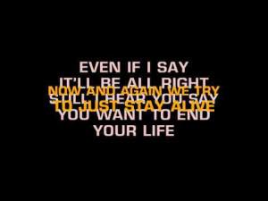 To help improve the quality of the lyrics, visit Nickelback ...