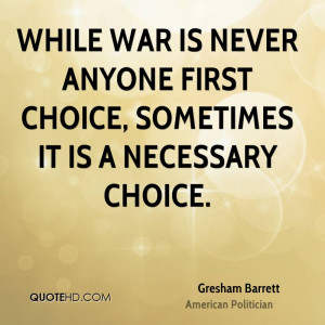 Gresham Barrett Quotes