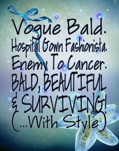 and hospital stays cancer can put patients through. Show others cancer ...