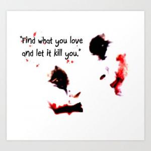 Joker Harley Quinn Love Quote digital Art Print by Justin 13 Art – $ ...