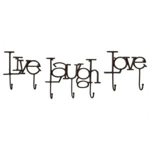 ... Furnishings Set of 3 Inspired Sayings Wall Mounted Hat and Coat Hooks