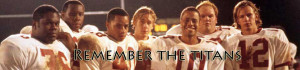 Remember the Titans Banner