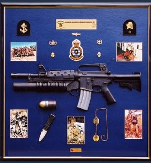 Police & Military Retirement Plaques And Send Off Gifts