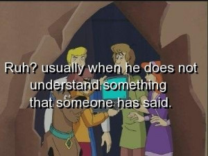 Scooby doo quotes and sayings cartoon talk