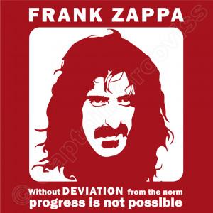 Frank Zappa Deviation Quote – Men's T-shirt – design image