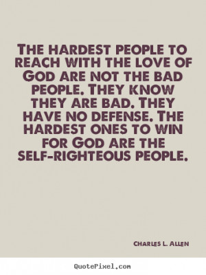 Self Righteous People Quotes