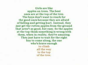 apples, quotes, schrift, this is so true!, words