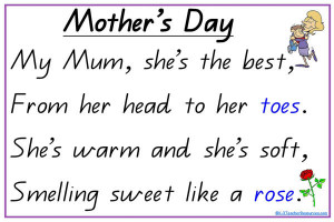 to short mothers day poems are poems for mothers day parents day poems ...