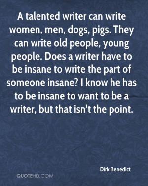 Dirk Benedict Quotes