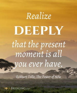Seize this moment!