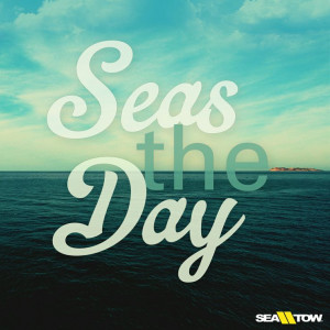 Seas the day! #boatquote #boat #quote #seatow #sea #tow #nautical