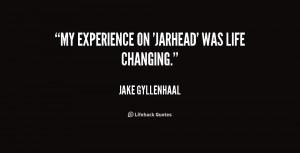 Quote Jake Gyllenhaal...