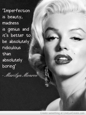 Motivation Funny Quotes Marilyn Monroe